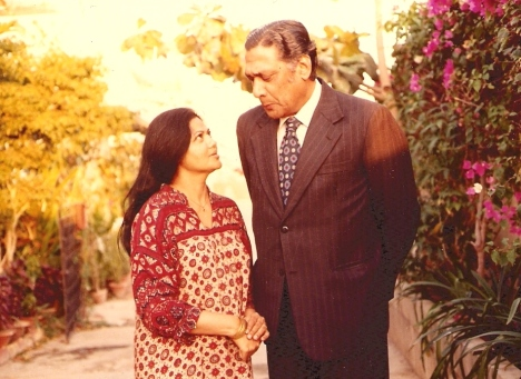 Zakia & Sarwar, Karachi, early 1980s