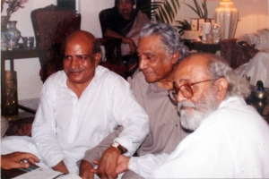 I.A> Rehman, Dr Sarwar and Salim Asmi, Karachi