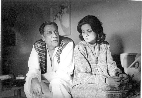 Sarwar & Salima, 1970s. Photo by Rashida Reza