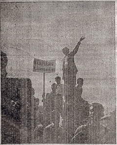 Scan from front page of Student Herald 'Martyrs Number', Vol. 1, No. 5, Jan 19, 1953