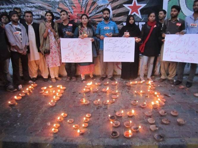 Jan 2015-NSF vigil for 1953 martyrs